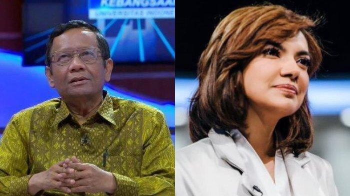Najwa Shihab Dinasehati Mahfud MD soal Berita Hoaks: Diamkan Saja, Tak Usah Ditanggapi