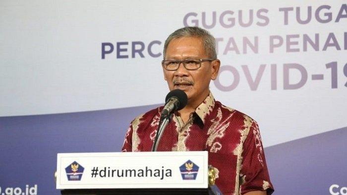 Kasus Covid-19 di Indonesia Kamis (16/7/2020) Bertambah 1.574 Kasus Baru, 1.295 Pasien Sembuh