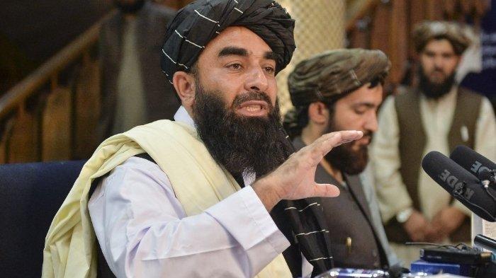 Sosok Zabihullah Mujahid Juru Bicara Taliban Akhirnya Muncul dan Nyatakan Tak Ingin Ada Permusuhan