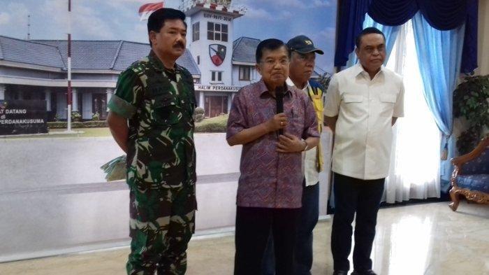 Jusuf Kalla: Tsunami di Selat Sunda Kasus Tak Biasa