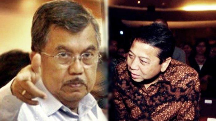Bencinya Jusuf Kalla ke Setya Novanto, Alasannya Setnov Suka Manfaatkan Proyek, Ngemis Jabatan