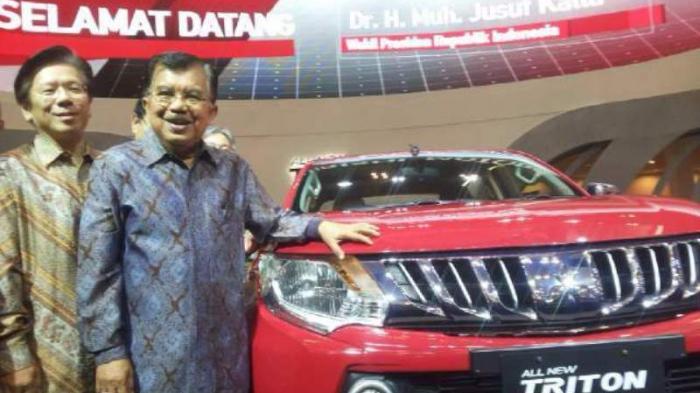 GIIAS 2015, Wapres Jusuf Kalla Memuji Produk Mitsubishi Motor