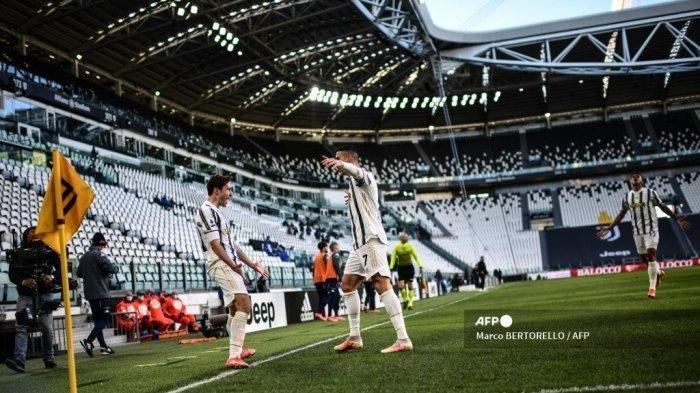 Skor Juventus vs Napoli, Begini Cara Cristiano Ronaldo Cetak Gol
