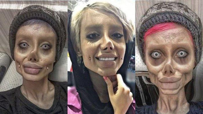 Kabar Terbaru Gadis Sahar Tahar yang Oplas Jadi Mirip Angelina Jolie, Ternyata Wajah Aslinya Cantik