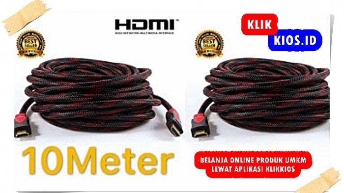 Belanja Yuk! Ada Kabel HDMI 5 Meter Yuli di Kios UMKM Sulut
