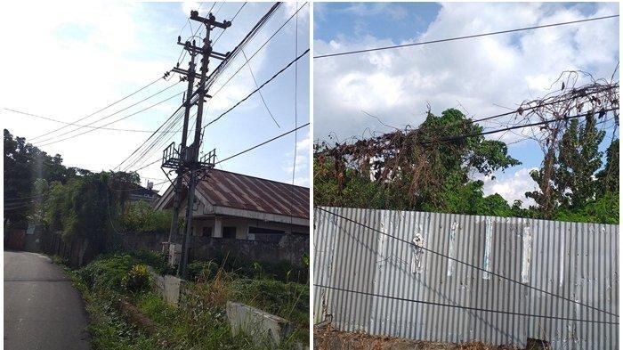 Membahayakan, Kabel Melintang Rendah Terlihat di Beberapa Daerah di Manado