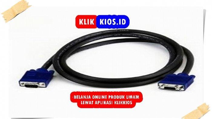 Belanja Yuk! Ada Kabel VGA 1,5 Meter di Kios UMKM Sulut