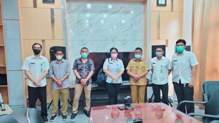 Bapedda Bolsel Terima kunjungan dari Bappeda Provinsi Sulawesi Utara