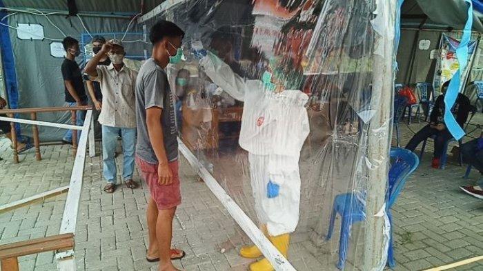 Mengintip Perbatasan Bolmong Minsel, Pemeriksaan Surat Rapid Antigen Masih Fakultatif
