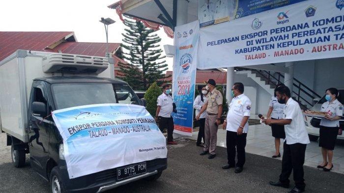 Pertama Kali Kabupaten Kepulauan Talaud Ekspor Hasil Tuna Ke Australia