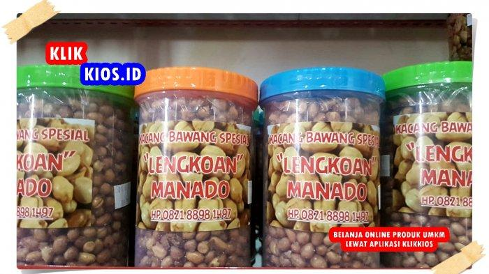 Belanja Yuk! Ada Kacang Bawang Spesial Lengkoan Manado di Kios UMKM Sulut