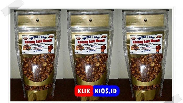 Belanja Yuk! Ada Kacang Gula Merah di Kios UMKM Sulut