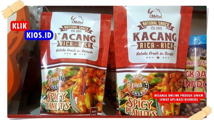 Belanja Yuk! Ada Kacang Rica-rica di Kios UMKM Sulut
