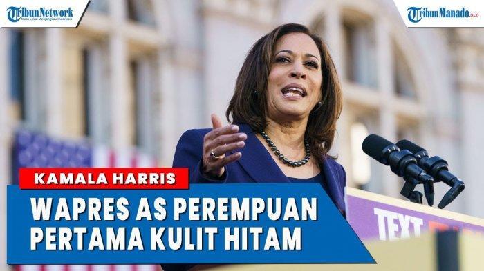 VIDEO Kamala Harris Perempuan Kulit Hitam Pertama Terpilih Wakil Presiden AS