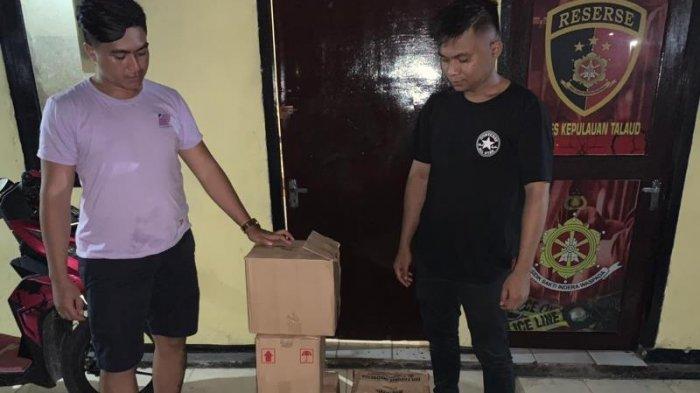 Satres Narkoba Amankan Miras di Caffe Laguna Melonguane Barat Talaud