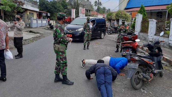 Kamis, (24/06/2021), Kepolisian Sektor (Polsek) Touluaan, menggelar operasi yustisi di jalan utama Kecamatan Silian Raya.