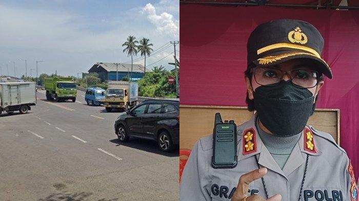 Truk dan Kendaraan Berat Harus Lewat Jalan Tol & SBY, Kapolres: Dilarang Lewat Jalan Manado-Bitung