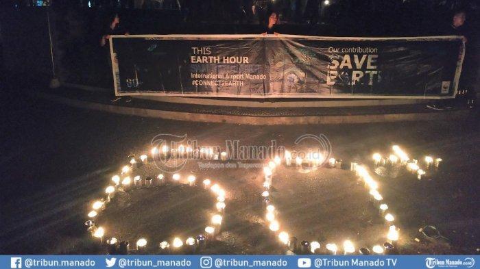 Earth Hour di Bandara Sam Ratulangi Manado, Padam Lampu 1 Jam hingga Maraton Malam