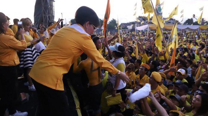 Kampanye Golkar, Tetty Paruntu: Golkar Jokowi Memang Sehati