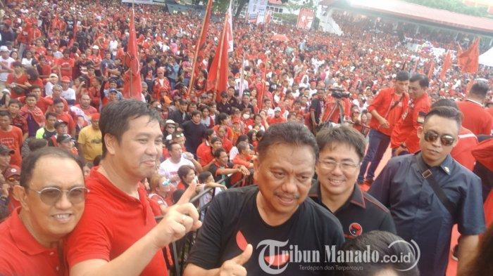 Daftar Perolehan Suara Caleg DPR RI di Minahasa,PDIP 'Sedot' Setengah Lebih Suara, Sisanya Dibagi