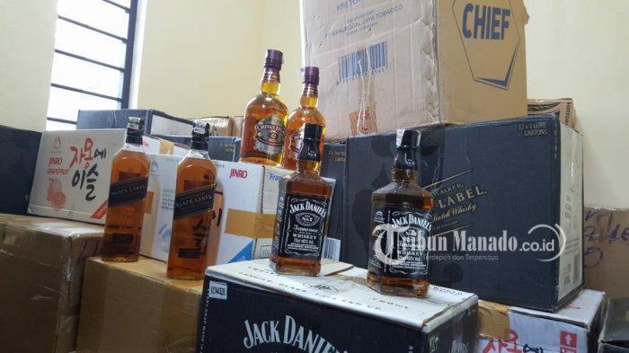 Bea Cukai Ungkap Kasus Miras Impor Ilegal, Sita 1.887 Botol Minuman Beralkohol