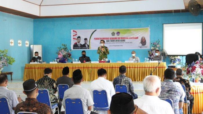 Kakanwil Kemenag Sulut Buka Kegiatan Moderasi Beragama dan Wawasan Kebangsaan di Bolmong
