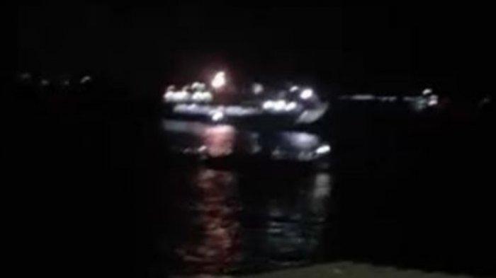 Kapal Penumpang KMP Yunicee Terseret Lalu Tenggelam di Perairan Gilimanuk Bali.