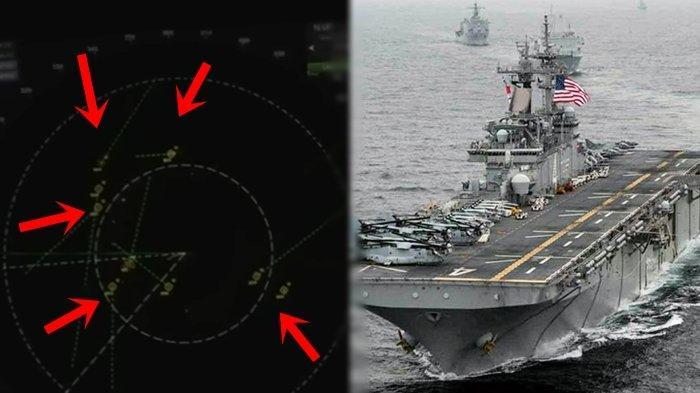Radar Perlihatkan Kapal Perang AS Dikerumuni 14 UFO, Pentagon Nyatakan Itu Asli, Kru Kebingungan