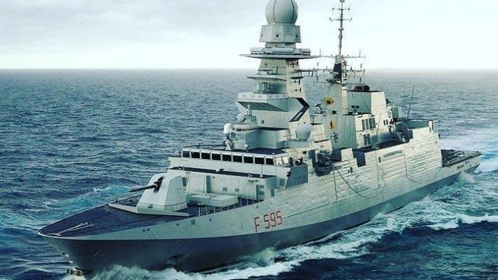 Indonesia Pesan 8 Kapal Perang Canggih dari Italia, Jenis Fregat FREMM, Ini Kemampuannya