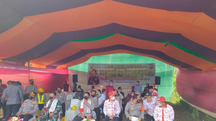 Kapolda Sulawesi Utara bersama rombongan mengunjungi Kabupaten Bolmong Selatan (Bolsel), Kamis (15/7/2021).