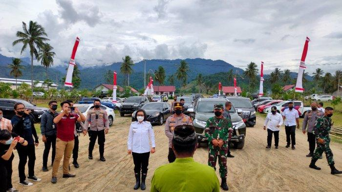 Markas Polres Bolmong Dibangun, Kapolda Sulut Irjen Nana Sudjana dan Bupati Letakkan Batu Pertama
