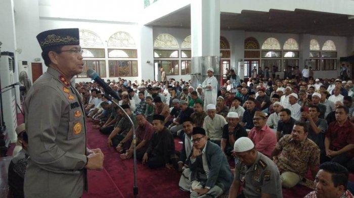 Berkunjung di Masjid Ahmad Yani Manado, Ini Pesan Kapolda Sulut