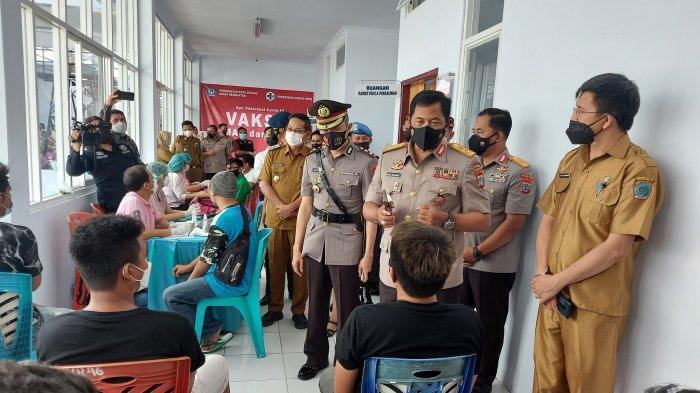 Kapolda Sulut Ajak Masyarakat Bersama TNI dan Pemda Kawal Pelaksanaan Vaksinasi Covid-19