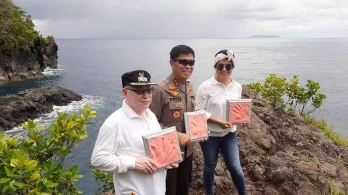 Kapolda Sulut Takjub Lihat Potensi Pantai Air Panas Timbako