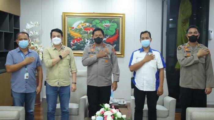 Pimpinan Tribun Manado Audiensi Kapolda Sulut, Nana Sudjana:Kerjasama dan Sinergitas Harus Berlanjut