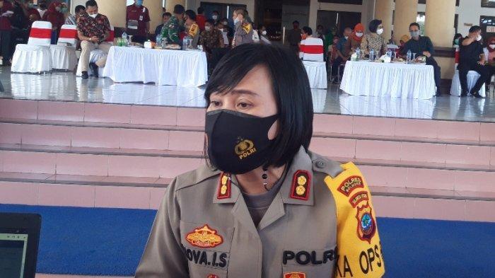 Kapolres Bolmong AKBP Nova Irene Surentu Minta Wartawan dan Masyarakat Turut Jaga Kamtibmas