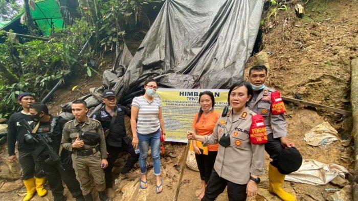 BREAKING NEWS, Kapolres AKBP Nova Surentu Tertibkan Sejumlah Tambang di Bolmong