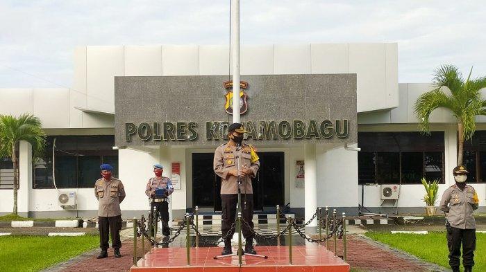 Kapolres Kotamobagu AKBP Prasetya SejatiMinta Maaf Kepada Anggotanya