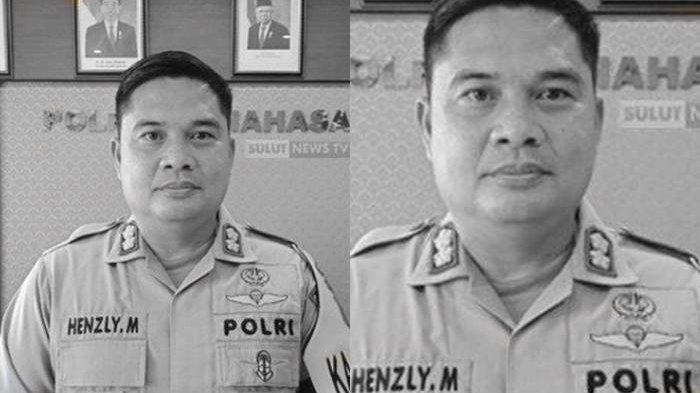 Kapolres Minahasa AKBP Henzly Moningkey saat dikonfirmasi, Rabu (13/1/2021).
