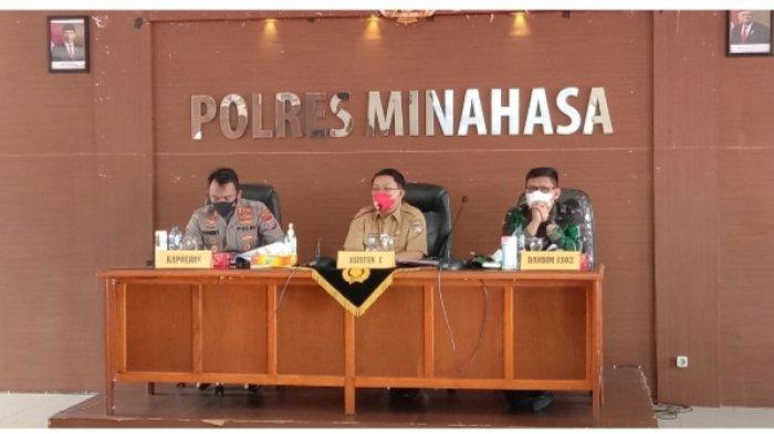 PPKM Level IV, Aktivitas Keluar Masuk Kabupaten Minahasa Diperketat