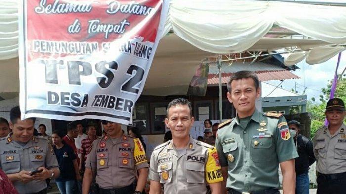 TNI Polri Amankan Perhitungan Suara PSU di Minahasa