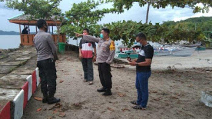 Cuaca Ekstrem, Kapolres Minahasa Tinjau Situasi Masyarakat di Daerah Pesisir