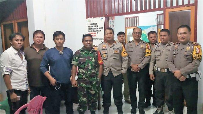 Kapolres Minsel Tinjau Pleno Tingkat Kecamatan di PPK Tumpaan dan Amurang