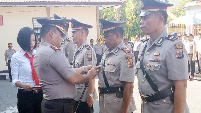 Kapolres Pimpin Sertijab Kapolsek Tagulandang dan Biaro