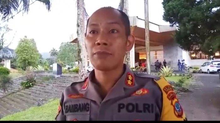 Polres Tomohon Tunggu Laporan Wanita yang Teriak Turun Ngana