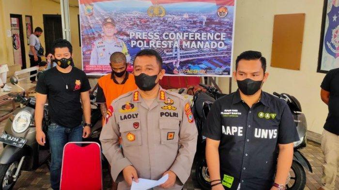 Residivis Pencuri Motor Ditangkap Polresta Manado