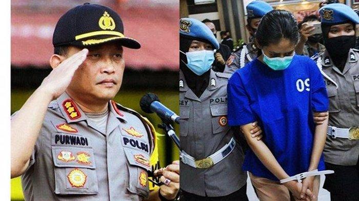 Kapolresta Yogyakarta Kombes Pol Purwadi Wahyu Anggoro dan Pelaku Sate Beracun