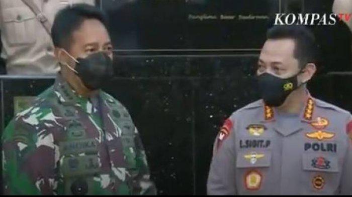 Dulu 2 Jenderal Ini Jaga Presiden Jokowi, Kini Bertemu Saat Jadi Kepala Staf TNI AD dan Kapolri