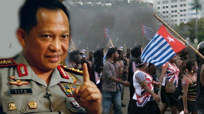 Kapolri Minta Kapolda Metro Jaya Tindak Pengibar Bendera Bintang Kejora di Depan Istana & Mabes TNI