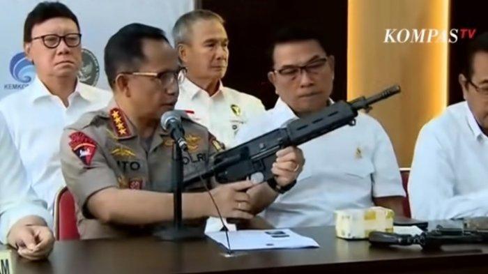 Ingat Aksi 21-22 Mei Lalu? Polisi SebutKorban Tewas karena Senjata dari Non-organik Polri